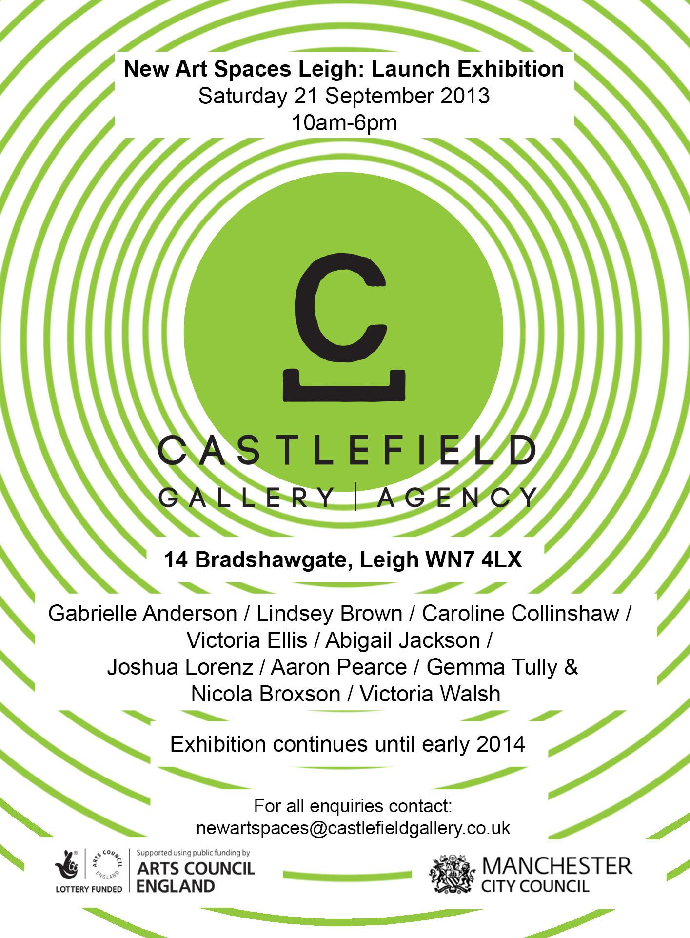 Castlefield Gallery Flyer